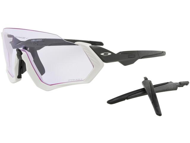 d01a9a8f377913 Oakley Flight Jacket - Lunettes cyclisme - blanc - Boutique de vélos ...